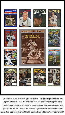 New York Yankees Sports Illustrated Cover Collection Poster