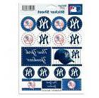 New York Yankees  5 x 7 Sticker Sheet Free Shipping