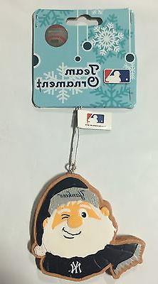 NY New York Yankees Gingerbread Winking SANTA Christmas Tree