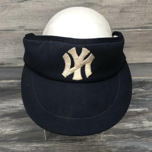 vtg new york yankees sun visor hat