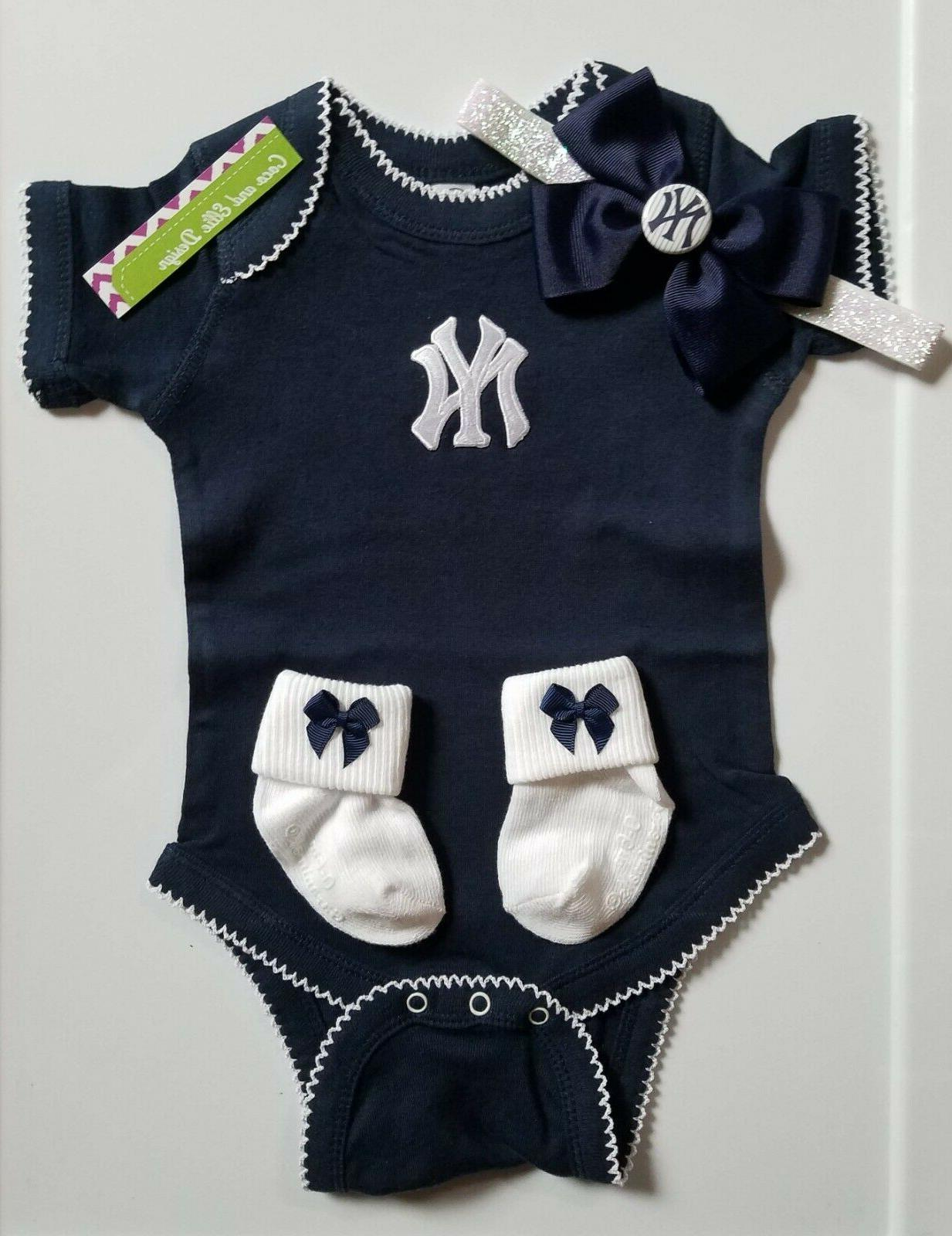yankees infant baby clothes girl yankees toddler