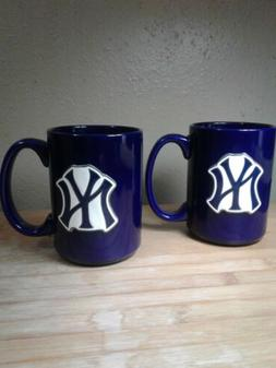 logo blue ceramic coffee mugs baseball mlb