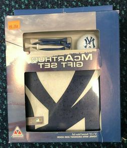 New York Yankees McArthur Golf Gift Set Golf Towel & NY Golf