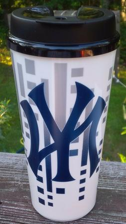 MLB NEW YORK YANKEES 32 OUNCE SINGLE WALLED TRAVEL CUP SNAP
