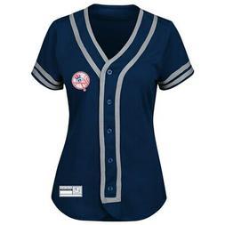 Majestic MLB Apparel NEW YORK YANKEES Women's Dri Fit Jersey