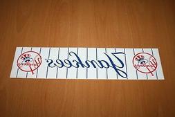 "New York Yankees - MLB Baseball - Bumper Sticker - 11.50"" x"