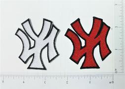 MLB Baseball New York Yankees Logo Embroidered Iron on Patch