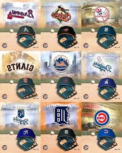 MLB Baseball Photo Cap Glove Player Logo