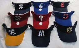 MLB Cotton Twill Replica Adjustable Hook & Loop Strap Visor