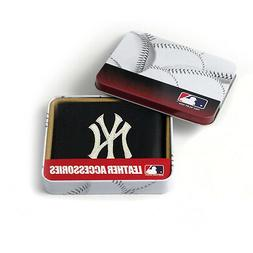 New York Yankees MLB Embroidered Leather Billfold Bi-fold Wa