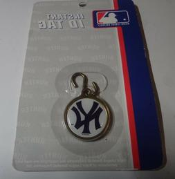 MLB NEW YORK YANKEES Instant ID Tag Pet Fan HUNTER AUTHENTIC