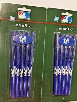 MLB New York Yankees 10 Pack Pens, NEW