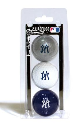 MLB New York Yankees 3 Ball Clam, Navy