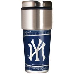 MLB New York Yankees 360 Wrap Travel Tumbler Coffee Mug Cup
