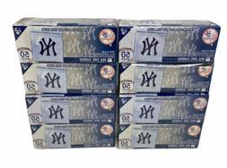 MLB New York Yankees  50 Pack = 400 Zipped Sandwich Bags 6 1
