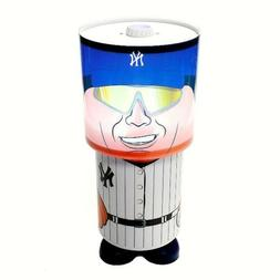 MLB New York Yankees Game Night Logo Rotating Desk Lamp Illu