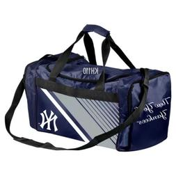 MLB New York Yankees Gym Travel Luggage Striped Core Duffel