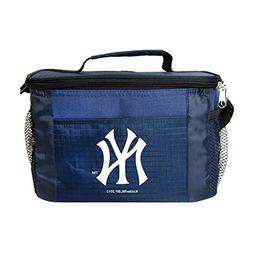 MLB York Yankees Team Logo 6 Can Cooler Bag or Lunch Box - B