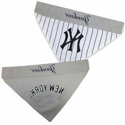 MLB NEW YORK YANKEES REVERSIBLE PET BANDANA