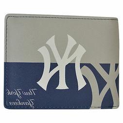 Brand New MLB New York Yankees Men Synthetic Leather Bi-Fold