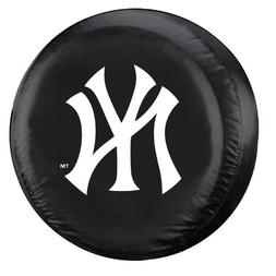 MLB New York Yankees Tire Cover, Black, Large