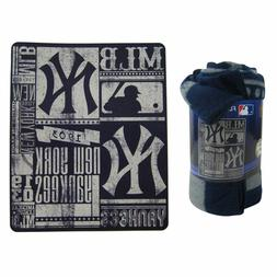 MLB New York Yankees Twin Bed in a Bag with Applique Comfort