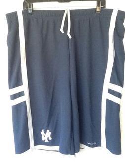 MLB NY Basketball Shorts XL New York Yankees Two Pockets