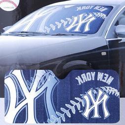 MLB NY Yankees Windshield Front Window Sun Shade Car Auto Ac
