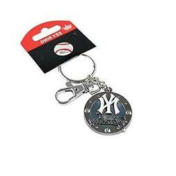 MLB - NEW YORK YANKEES OFFICIAL TEAM KEY CHAIN KEY RING New