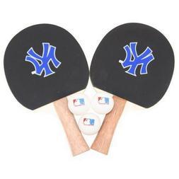 MLB NEW YORK YANKEES PING PONG TABLE TENNIS SET MLB With 2 P
