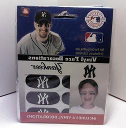 MLB New York Yankees Team Vinyl Face Decal Decorations Stick