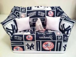 MLB New York Yankees Tissue Box Cover Handmade
