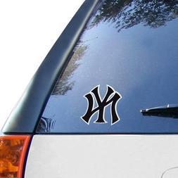 "MLB Yankees New York Medium Die Cut Decal, 9"" x 5"" x 0.2"", T"