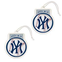 New 2pc MLB New York Yankees Hanging Gel Air Freshener Sport