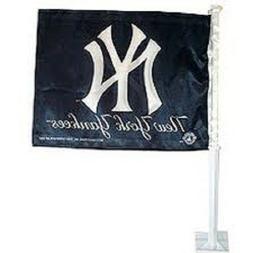 NEW MLB NEW YORK YANKEES 11X14 WINDOW MOUNT 2-SIDED CAR FLAG