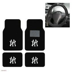 New MLB New York Yankees Car Truck Carpet Floor Mats & Steer