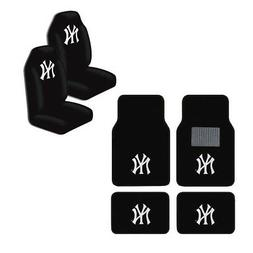 New MLB New York Yankees Car Truck Seat Covers & Front Back