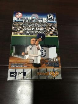 NEW Oyo Derek Jeter New York Yankees Curtain Call Dugout Set