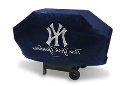 New York NY Yankees DELUXE Heavy Duty BBQ Barbeque Grill Cov
