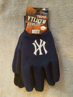 NEW YORK NY YANKEES TEAM WORK SPORT UTILITY GLOVES - BRAND N
