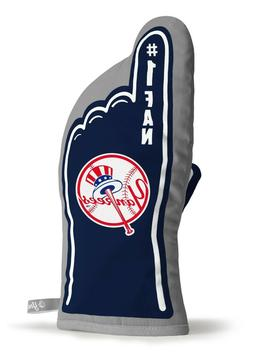 NEW YORK YANKEES  #1 FAN OVEN MITT GAMEDAY GRILL TAILGATE ML