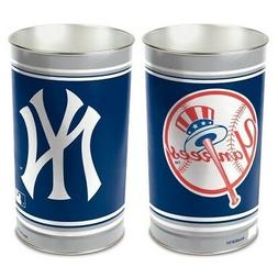 NEW YORK YANKEES ~  Official MLB 15 Inch Wastebasket Trash C