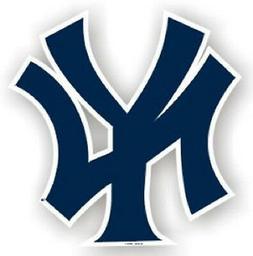 "New York Yankees 12"" Car Magnet  MLB Auto Emblem Sticker Dec"