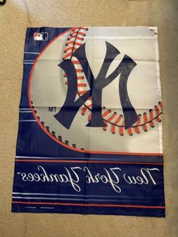New York Yankees 13x18 Premium Stitched 2-Sided Outdoor Gard