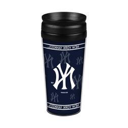 New York Yankees 14oz Full Wrap Travel Mug  Tumbler Coffee C