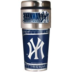 new york yankees 16 oz stainless steel