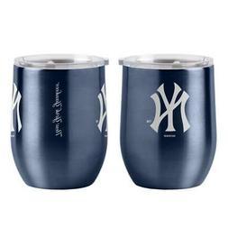 New York Yankees 16oz Curved Ultra Travel Tumbler  MLB Cup M
