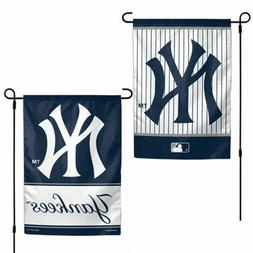 New York Yankees 2 Sided Double Sided Garden Flag OUTDOOR RA