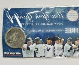 NEW YORK YANKEES~2004 Season Medallion Collection THE NEXT C