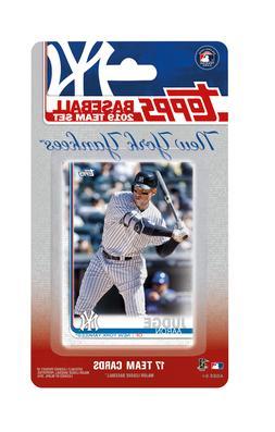 New York Yankees 2019 Topps Factory Sealed Team Set Aaron Ju